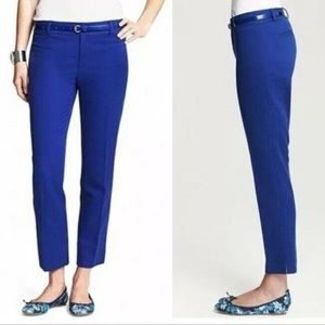 Banana Republic Women's Camden Diamond Blue Pants